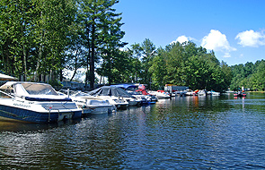 The Marina at Sanborn Shore Acres.