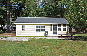 Cottage rental at Sanborn Shore Acres